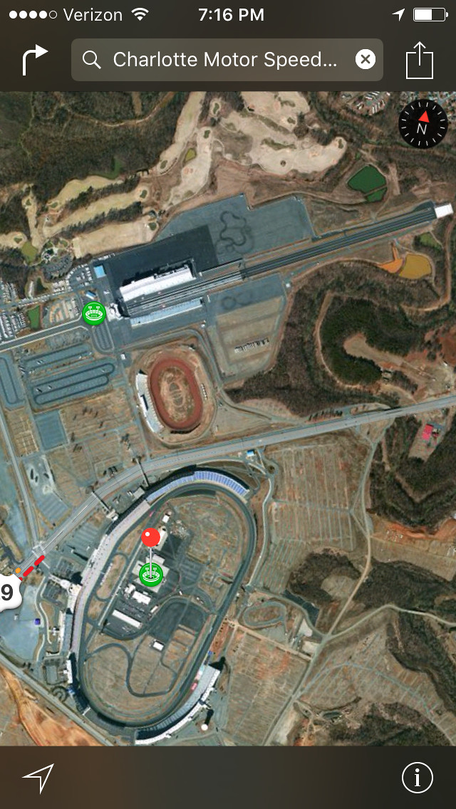 Mxgp Of Americas 2016 Charlotte Motor Speedway Track Map