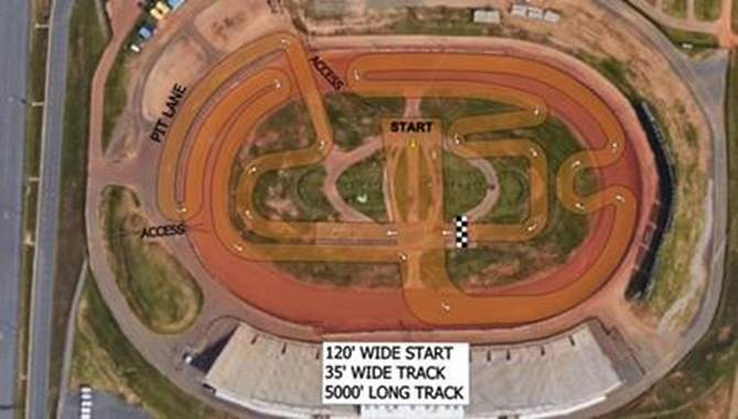 New track map for mxgp in charlotte moto related for Dirt track at charlotte motor speedway