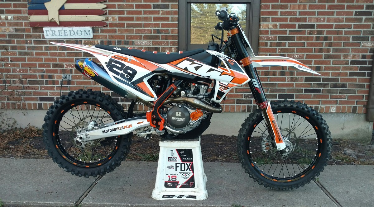 my 2016 ktm450 sxf with new graphics - moto-related - motocross