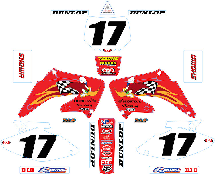 Crf50 Woody Graphics