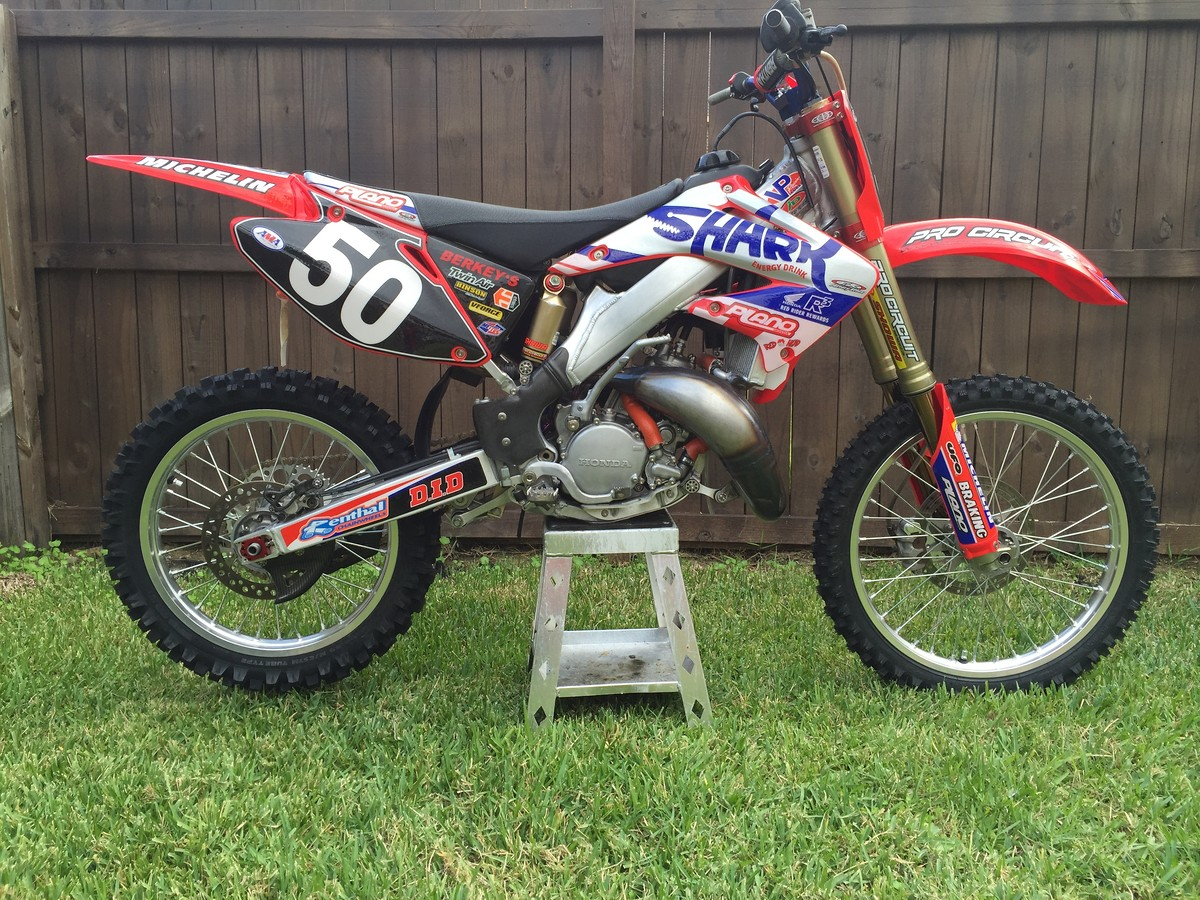 2002 honda cr 125 plano honda race bike for sale bazaar