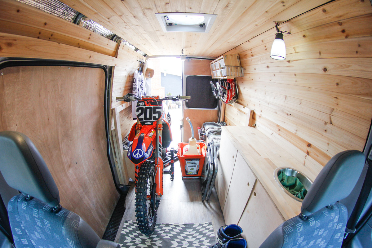 Another Moto Van Build Moto Related Motocross Forums