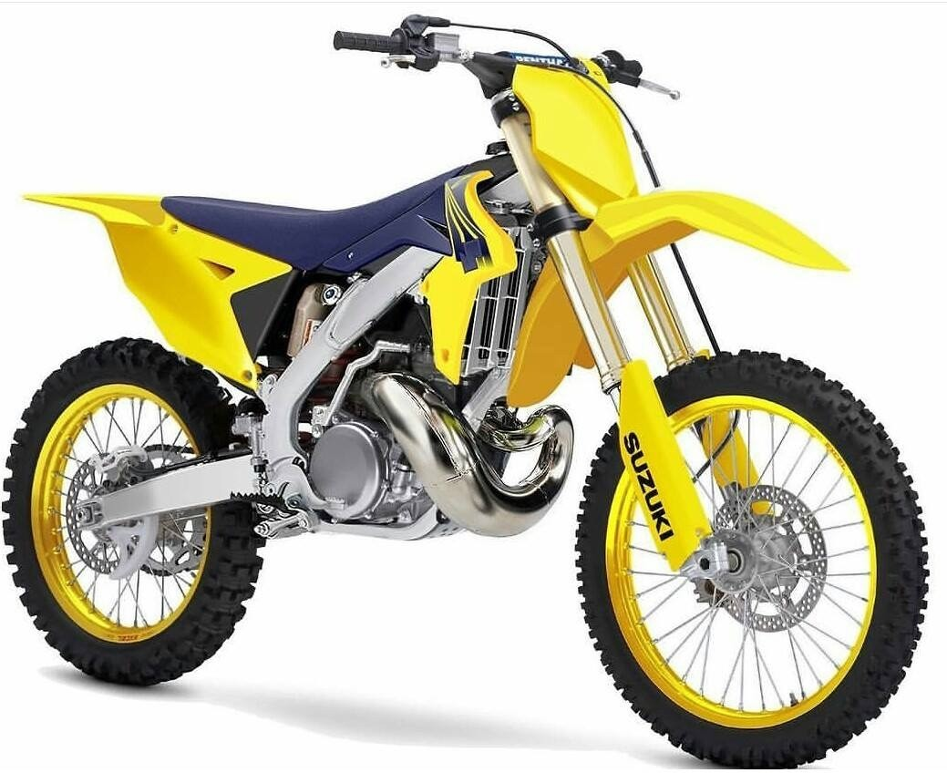 2018 suzuki rm125.  rm125 saw this on mxa facebook page just a photo shop job i suppose but it  looks nice to 2018 suzuki rm125 0
