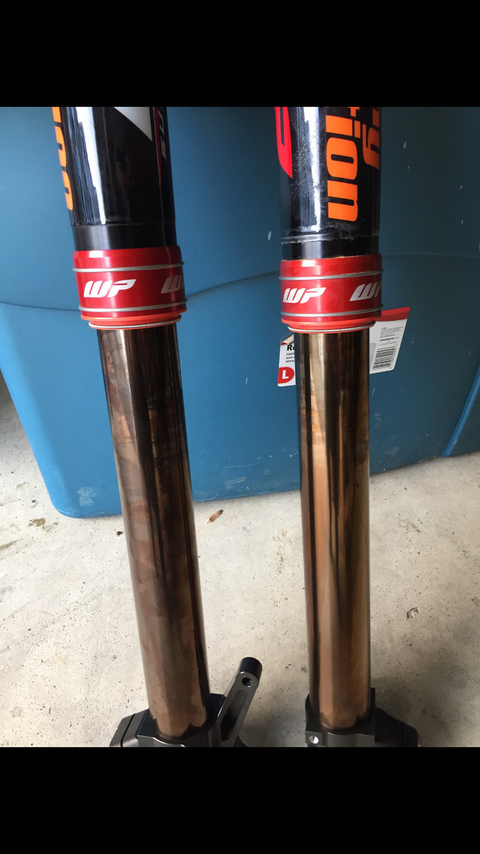Wanted Wp Cone Valve Forks For New Ktm For Sale Bazaar