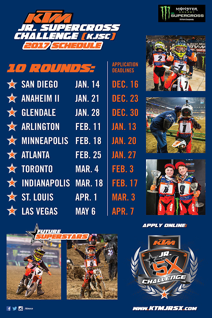 2018 ktm jr supercross challenge. interesting challenge who won  any vitards kids participating to 2018 ktm jr supercross challenge