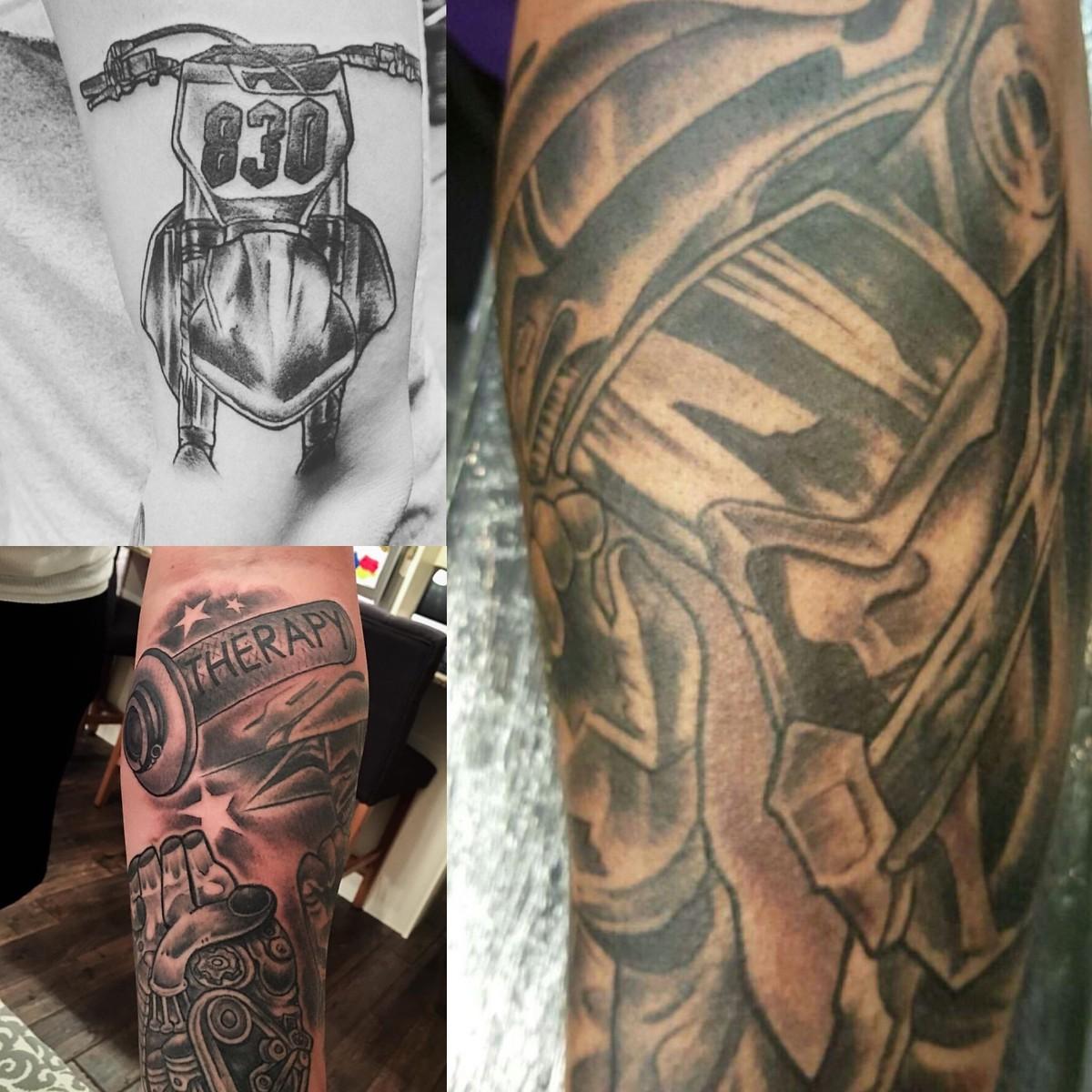 Moto Related Tattoos 1284786