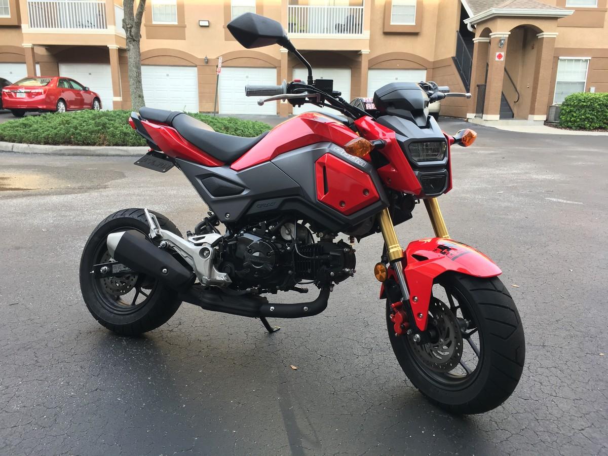 2017 honda grom fs or trade for newer 125 250f for sale bazaar motocross forums. Black Bedroom Furniture Sets. Home Design Ideas