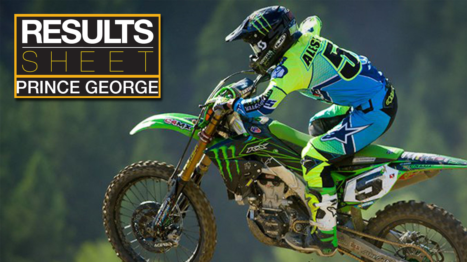 Results Sheet: 2017 Canadian Motocross Nationals - Prince George