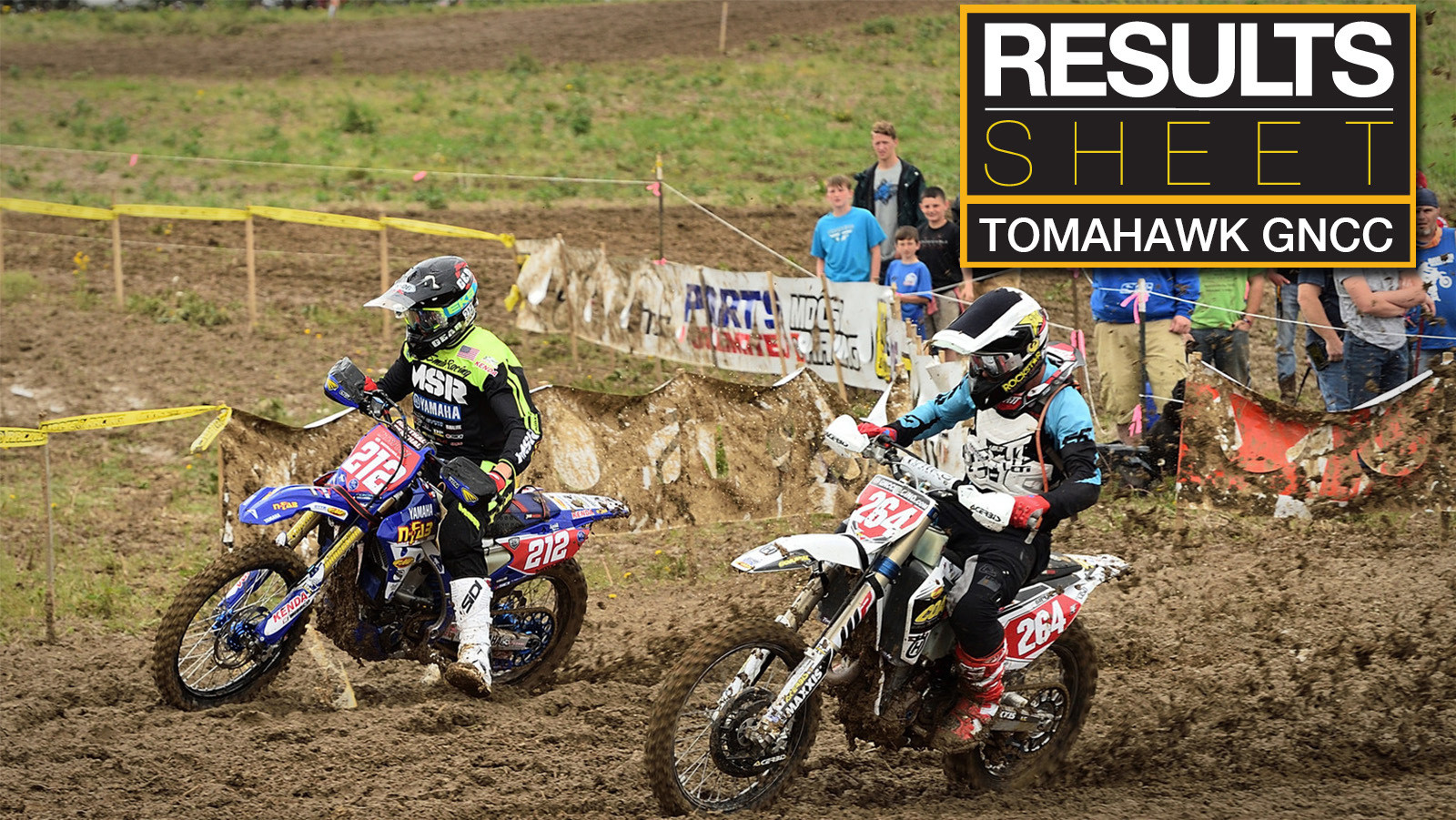 Results Sheet: Tomahawk GNCC