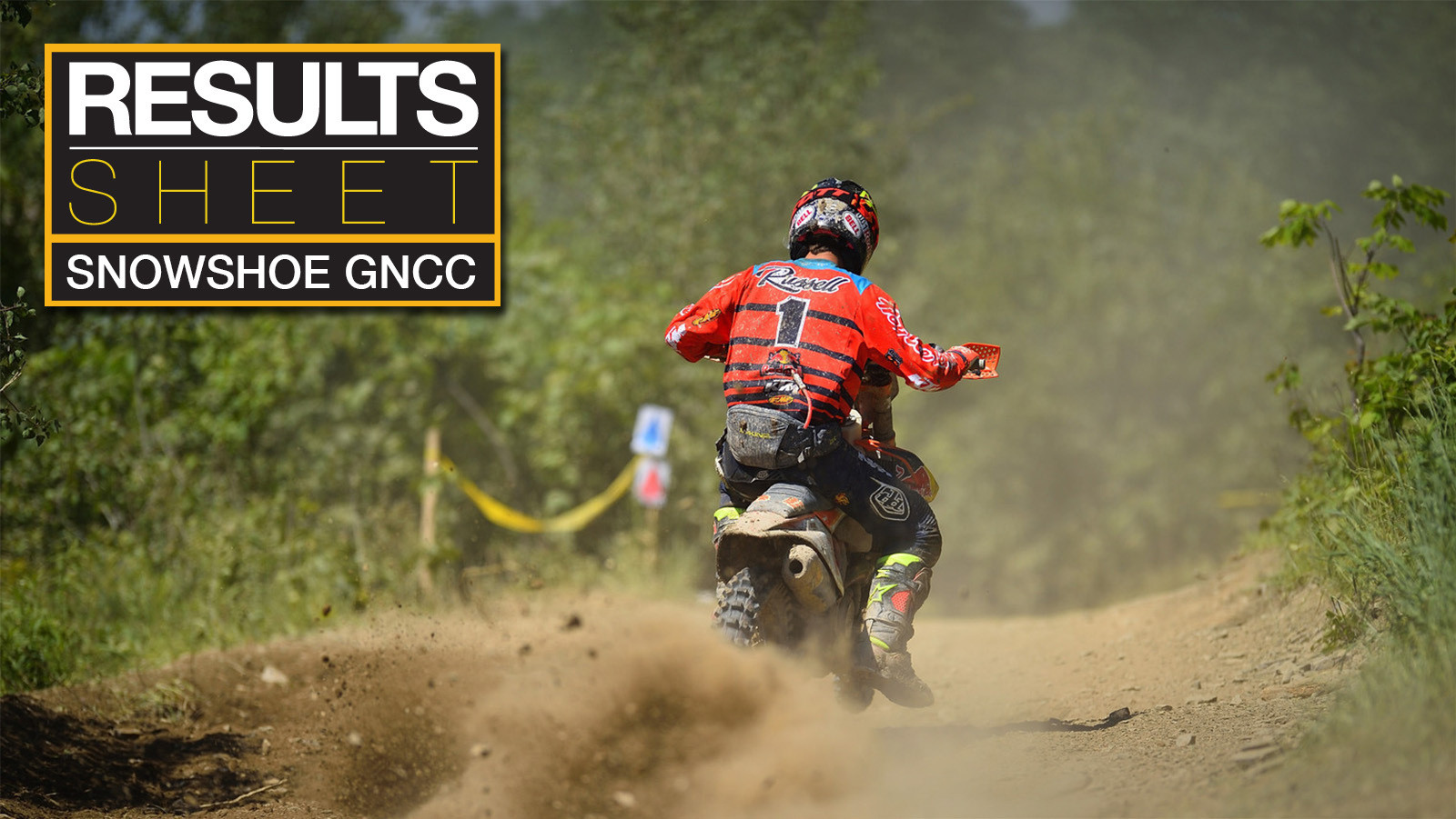 Results Sheet: Snowshoe GNCC