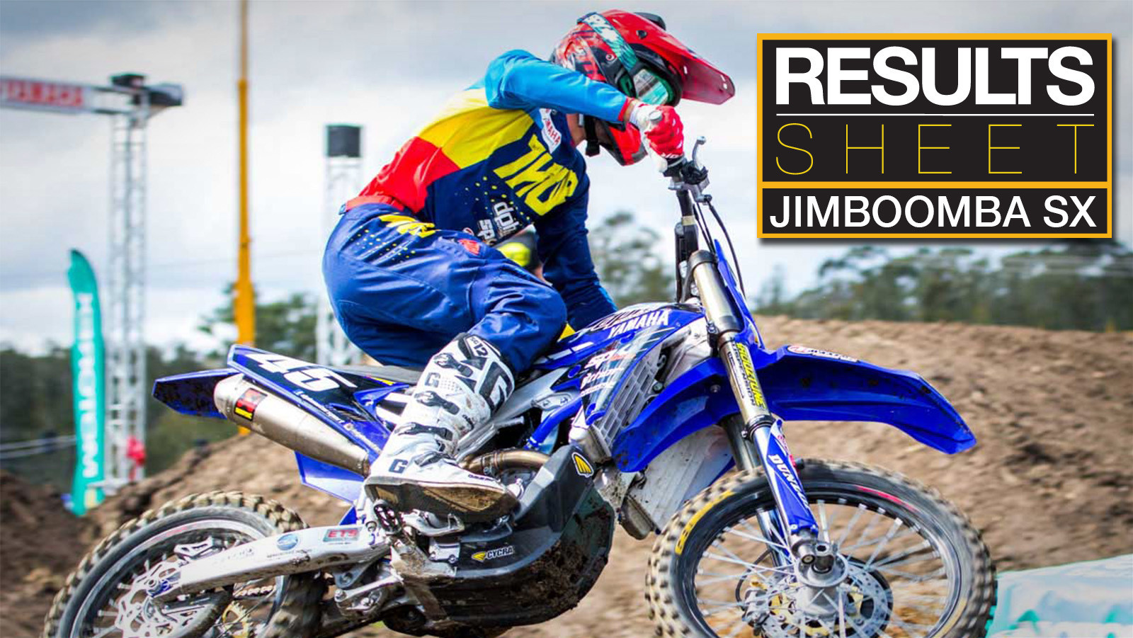 Results Sheet: 2017 Australian Supercross Championship - Jimboomba