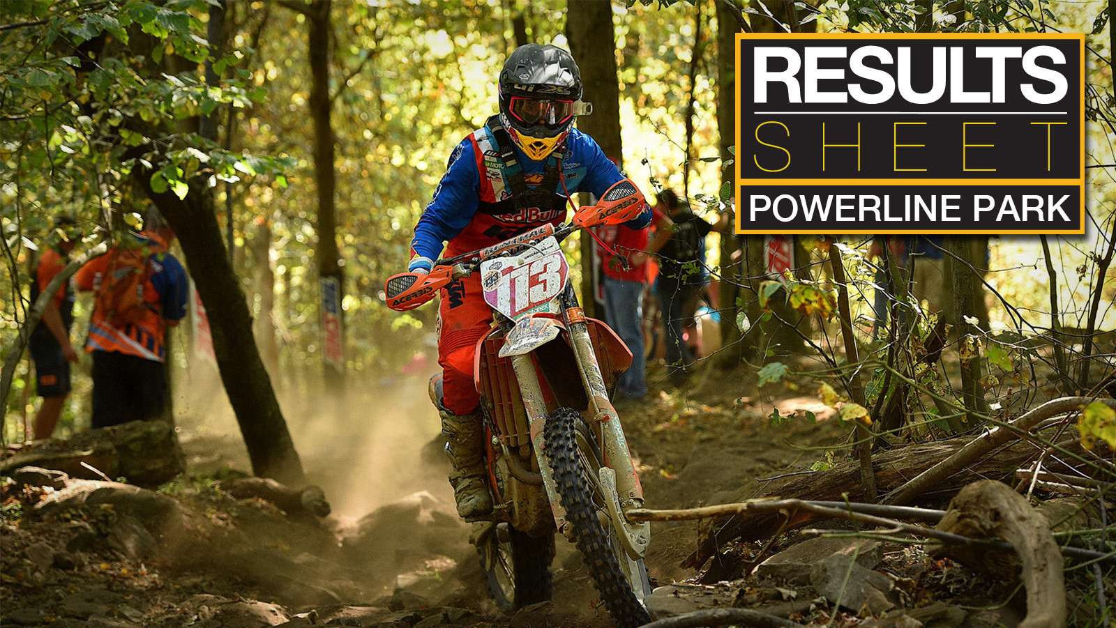 Results Sheet: Powerline Park GNCC