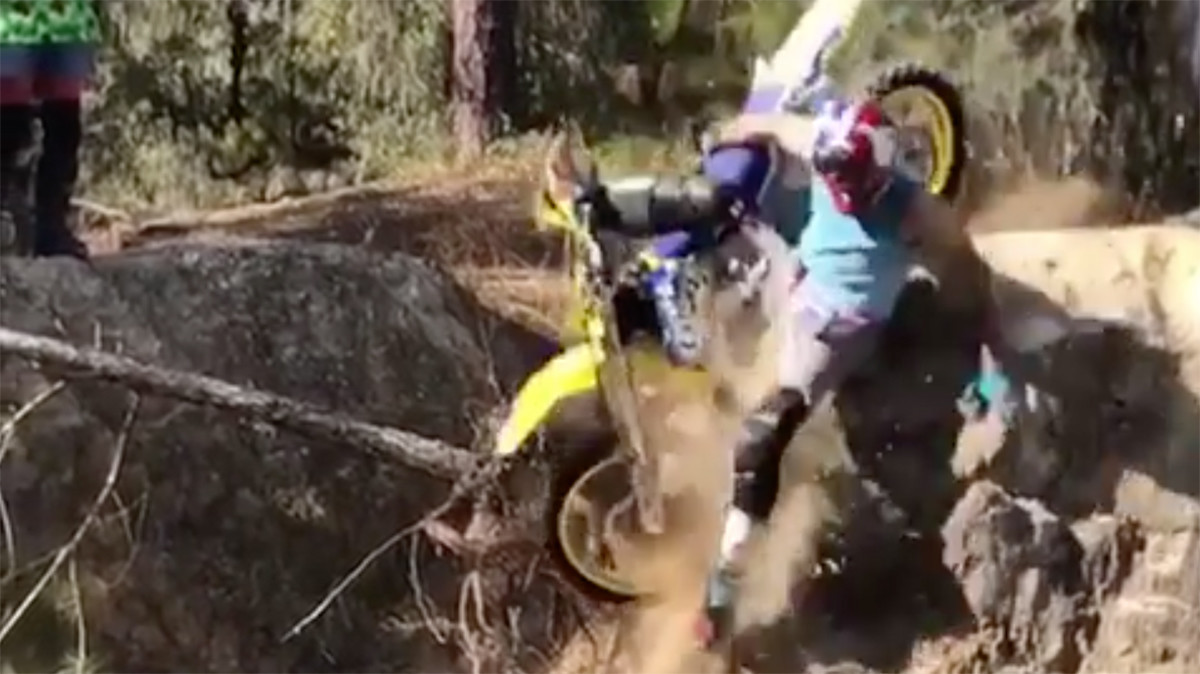 CRASH: Travis Pastrana Breaks Wrist