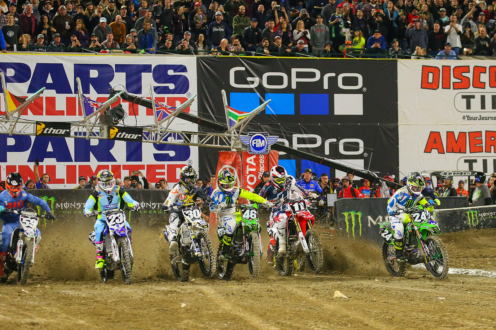 2018 Anaheim 1 Supercross Provisional Entry Lists Released