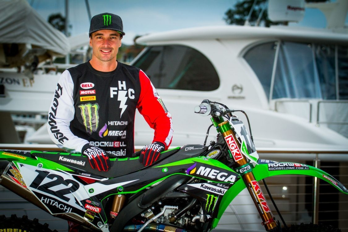 Dan Reardon Signs with MEGA Fuels Monster Energy Kawasaki for 2017 Australian Supercross Championship