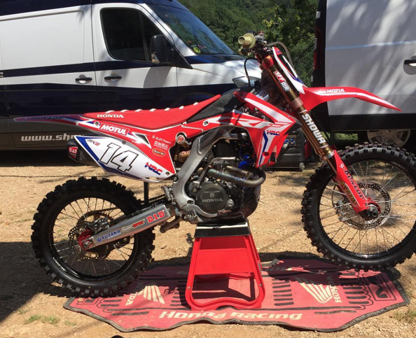 Jed Beaton Joins Team Honda HRC MX2 for Three Races