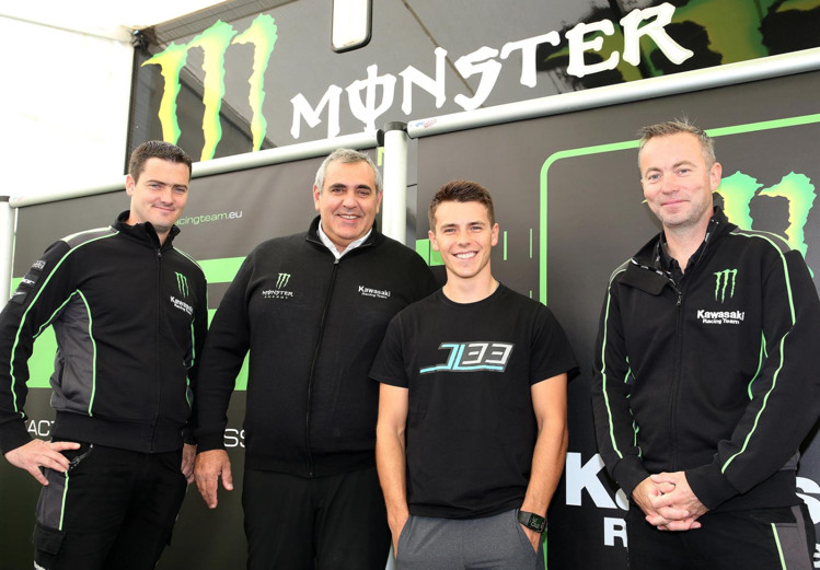 Julien Lieber Signs with Monster Energy Kawasaki Racing Team for 2018 MXGP Season