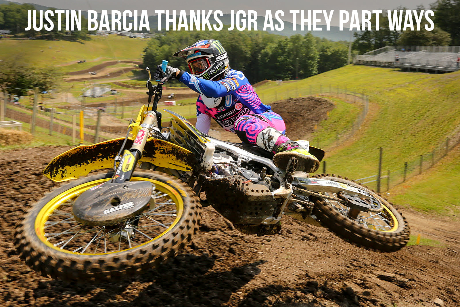 Justin Barcia Thanks JGR MX as They Part Ways at Season's End