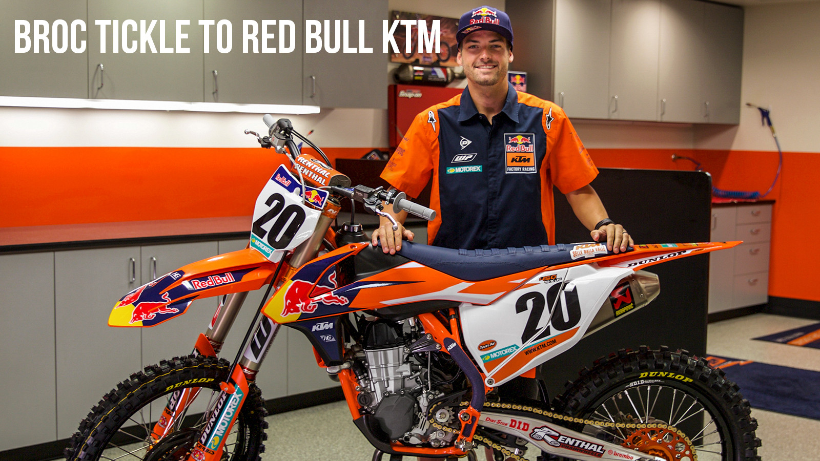 Official: Broc Tickle to Red Bull KTM for 2018