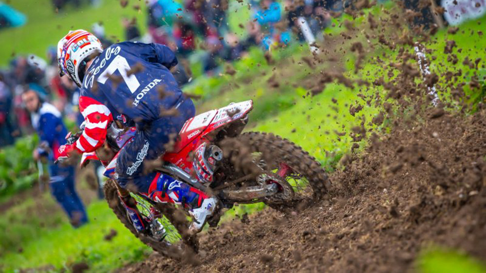 Team Honda HRC Addresses Motocross of Nations Shock Failure on Cole Seely's Bike
