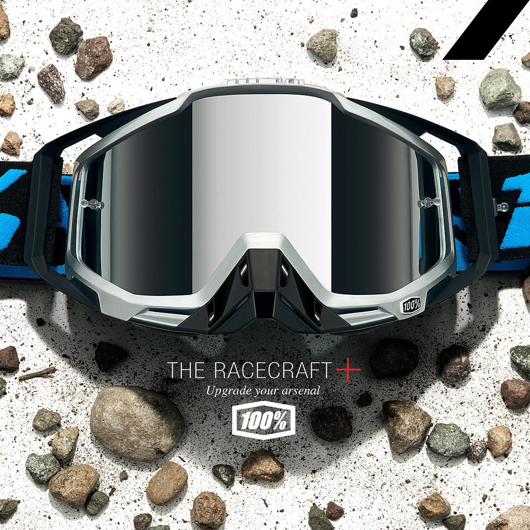 100% Introduces the Racecraft+ Goggle
