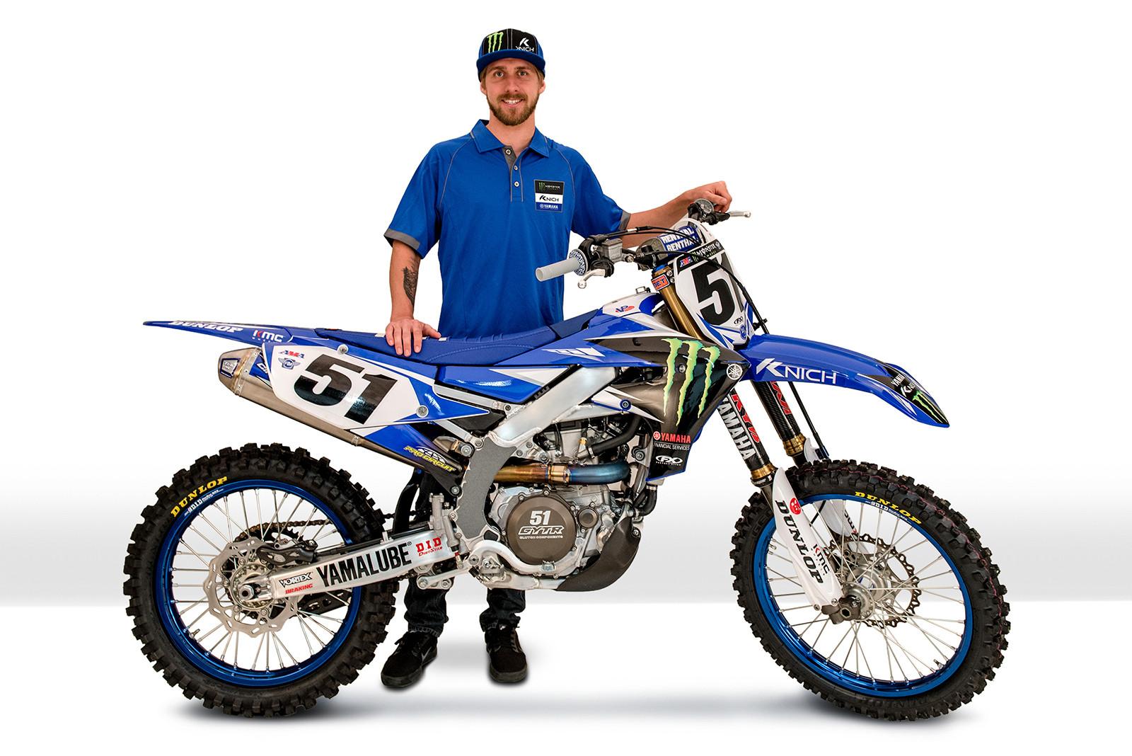 Monster Energy/Knich/Yamaha Factory Racing Team Rider Updates