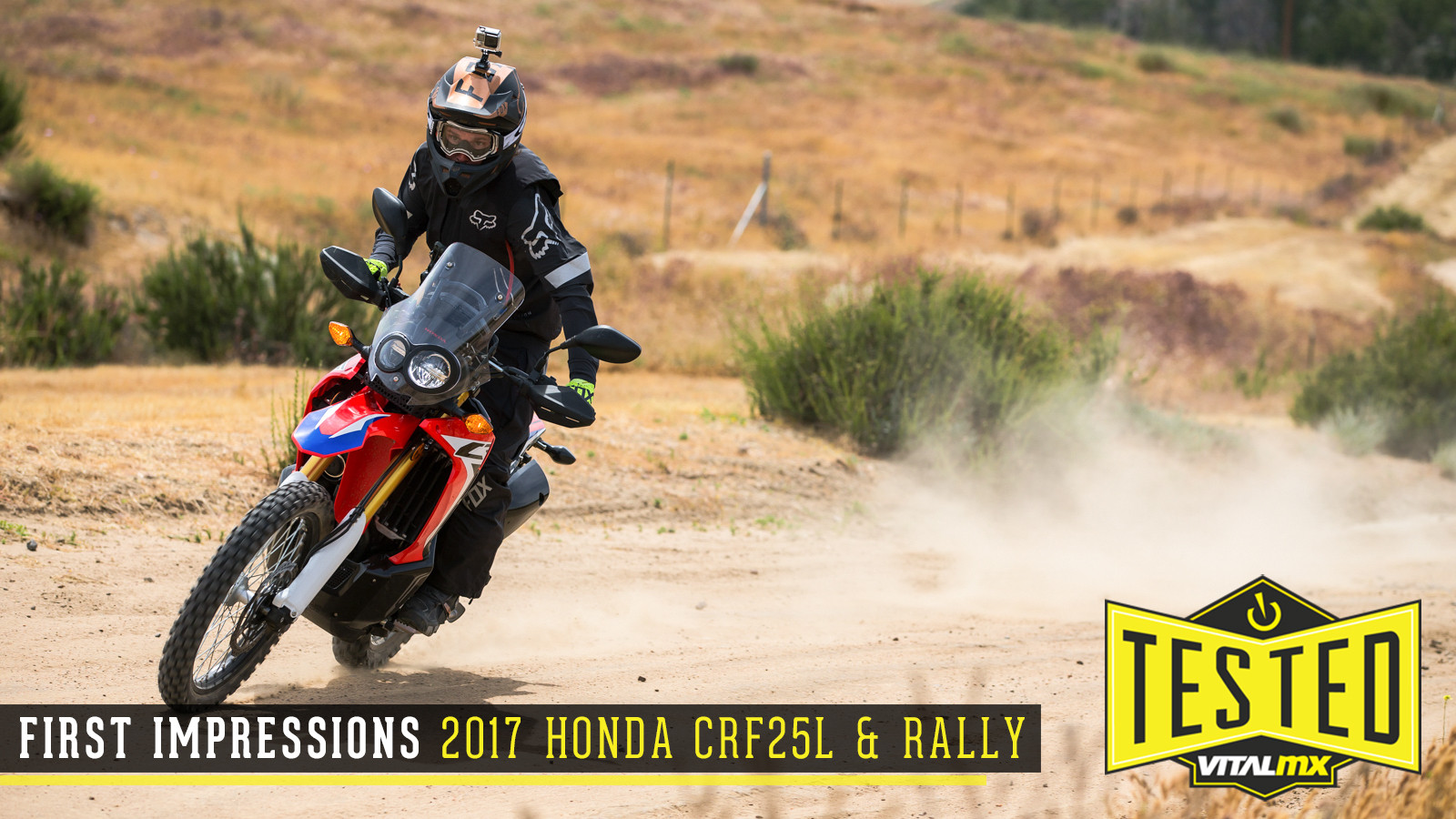 First Impressions: 2017 Honda CRF250L and Rally