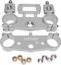 Applied R/S Triple Clamp Kit With Oversized Bar Mounts Silver  APP-RSF-066_is.jpeg
