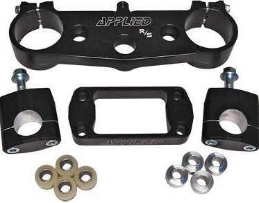 Applied R/S Triple Clamp Kit With Oversized Bar Mounts Black  APP-RST-015_is.jpeg