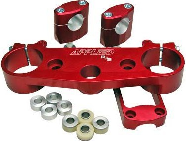 Applied Racing R/S Triple Clamp Kit With Oversized Bar Mounts Red  APP-RST-030_is.jpeg