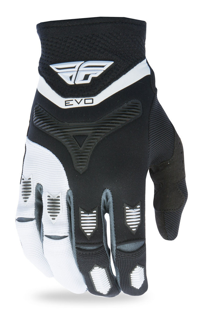 Fly Racing Evolution Gloves  Black/White