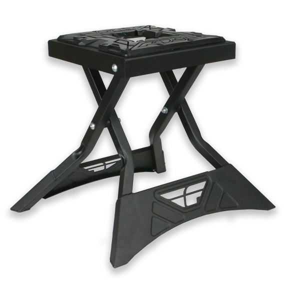 Fly Racing Folding MX Stand  Gun Metal