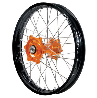 D.I.D. Complete Rear Wheel Kit With Talon Billet Hub & Did Dirtstar Stx Wheel  dub_14_whe_com_rea_kit_bil_stx-blk_rim_ora_hub.jpg