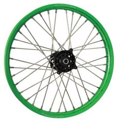 DNA Specialty Front Wheel 1.60 X21 Black/Green  DNA-FW-KA1BKGN_is.jpeg