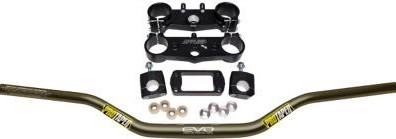Applied Factory R/S Triple Clamp Set With Pro Taper Evo Handlebar Combo  APP-RSF-KIT-02_is.jpeg