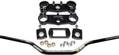 Applied Factory R/S Triple Clamp Set With Pro Taper Contour Handlebar Combo  APP-RSF-KIT-01_is.jpeg