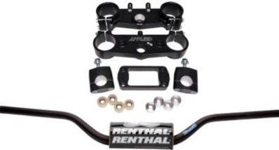 Applied Racing Factory R/S Triple Clamp Set With Renthal Fat Bar Handlebar Combo  APP-RSF-KIT-03_is.jpeg