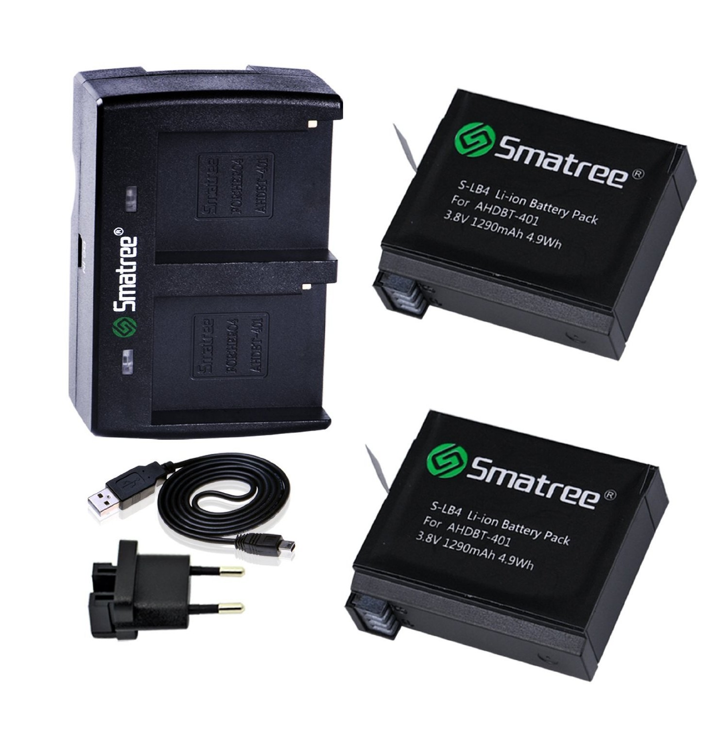 Smatree Battery & Charger for GoPro 71oGVqBAvYL._SL1500_