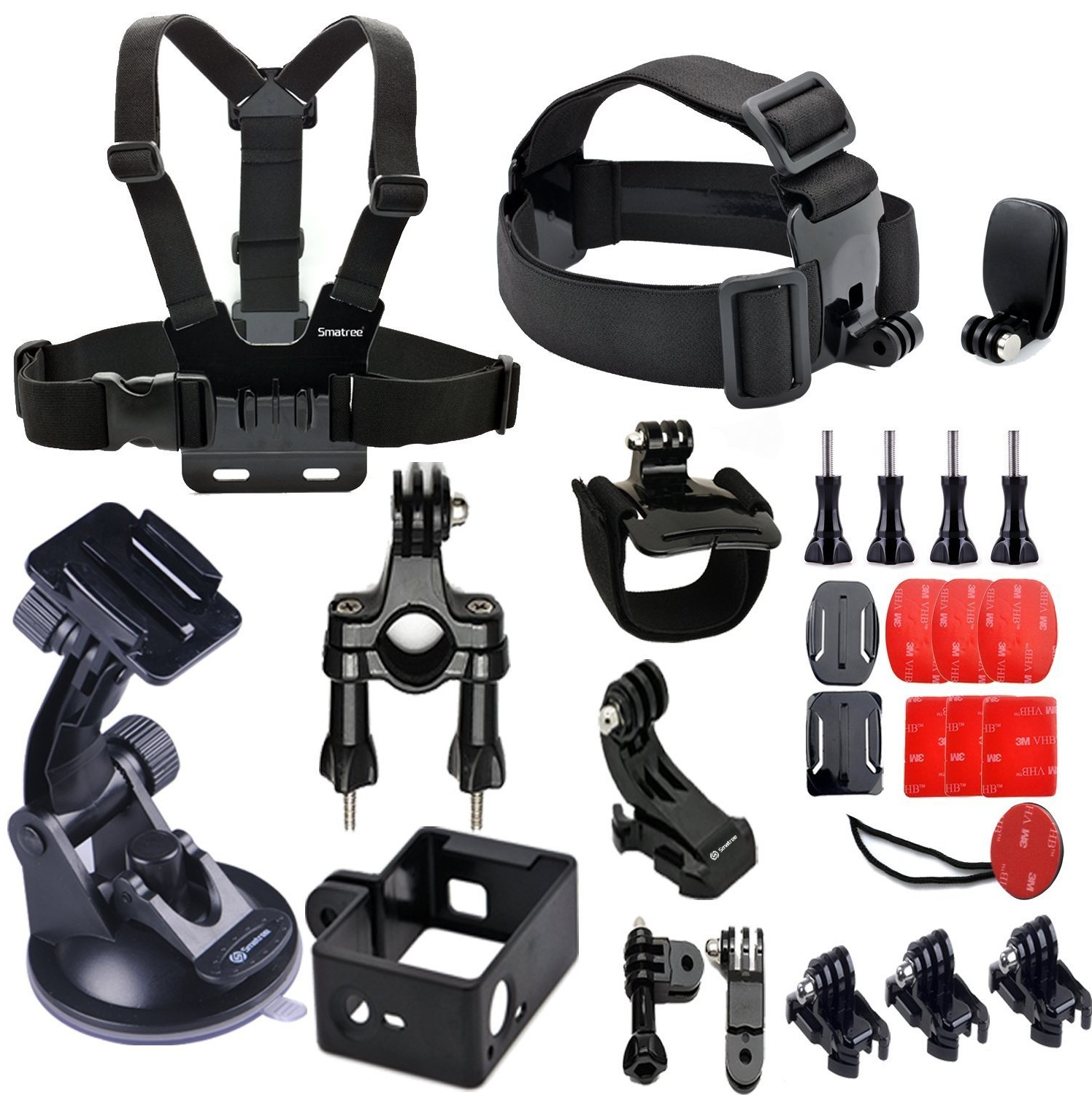 Smatree 25-in-1 Gopro Accessories  71UcqSM7aML._SL1500_