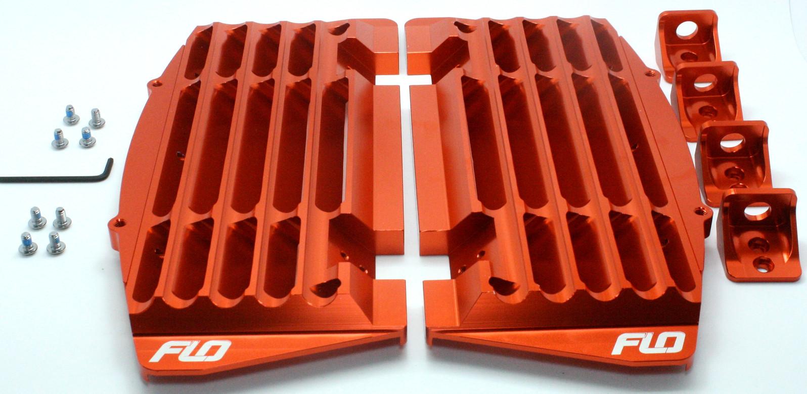 Flo Motorsports Best KTM / Husqvarna Radiator Guards / Brace  kt16 guard 2