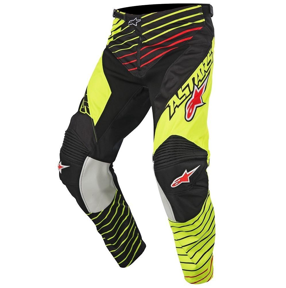 Alpinestars Racer Braap Pants Alpinestars Racer Braap Yellow and Black