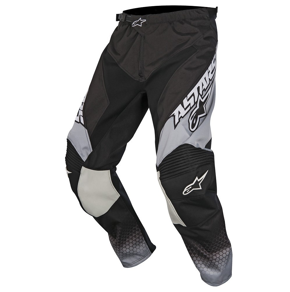Alpinestars Racer Supermatic Pants Alpinestars Racer Supermatic Gray and Black