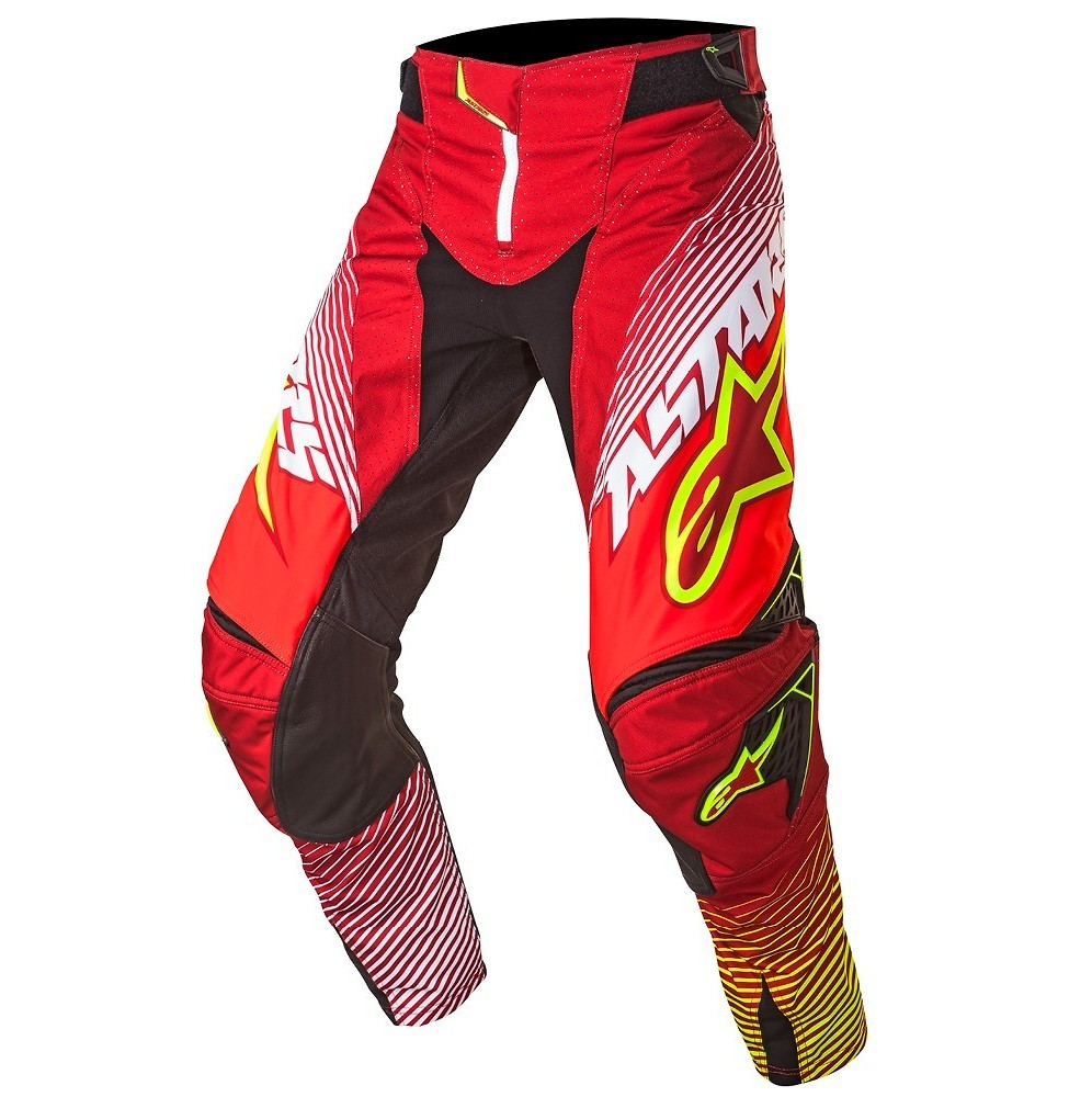 Alpinestars Techstar Factory Pants Alpinestars Techstar Factory Red