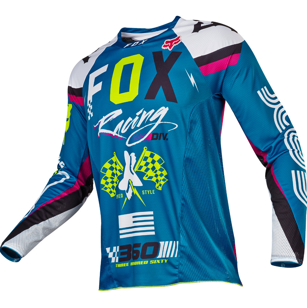 Fox Racing 360 Rohr Jersey & Pant  Fox Racing 360 Rohr Teal