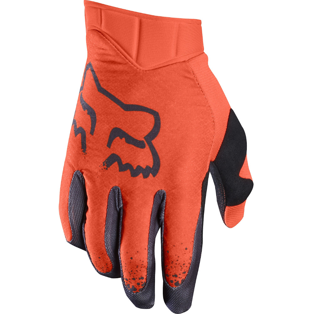 Fox Racing Airline Moth Gloves Fox Racing Airline Moth Orange