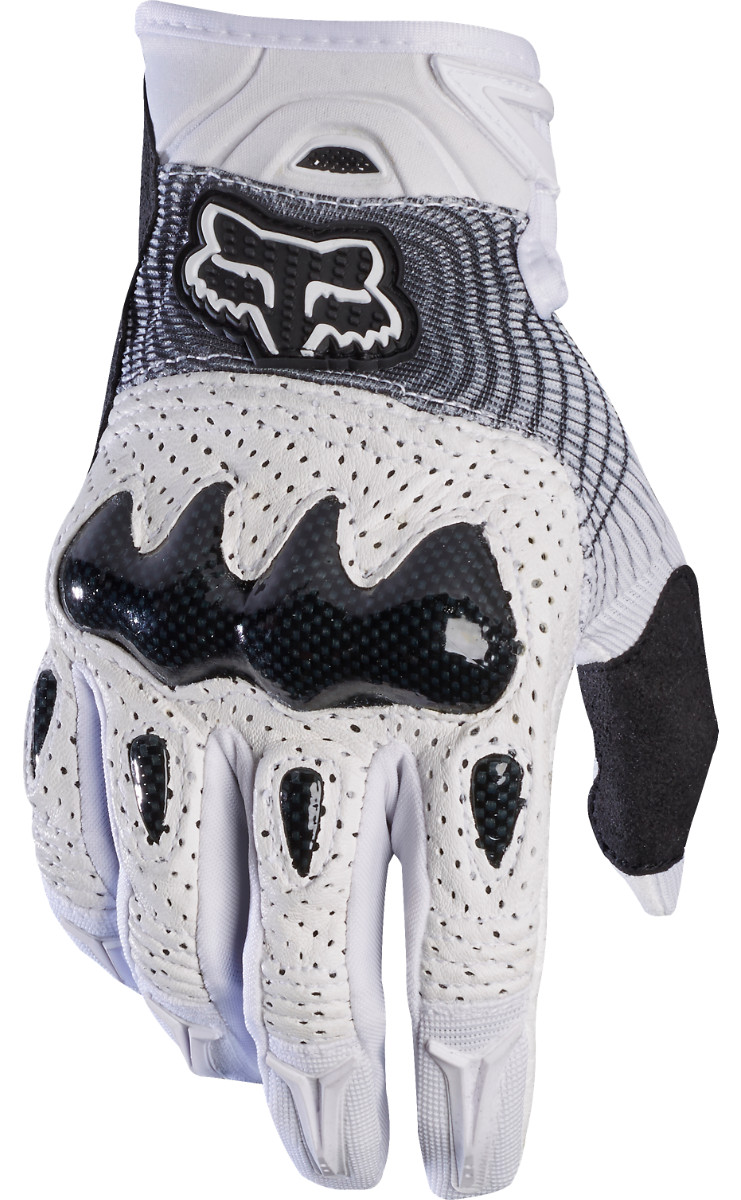 Fox Racing Bomber Gloves Fox Racing Bomber White