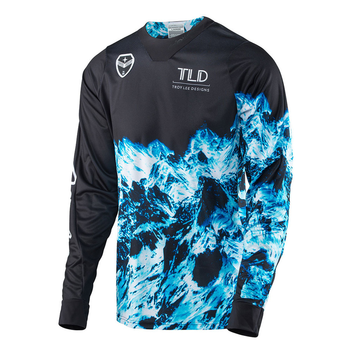 Troy Lee Designs SE Gravity Jersey Troy Lee Designs SE Gravity Black
