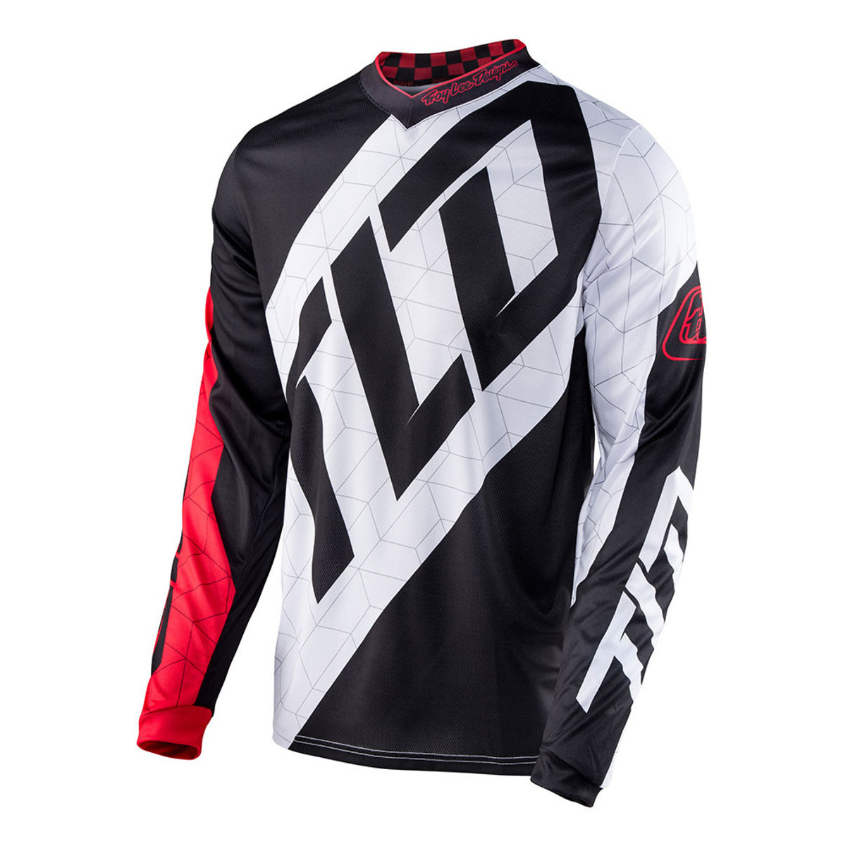 Troy Lee Designs GP Quest Jersey Troy Lee Designs GP Quest Red and White