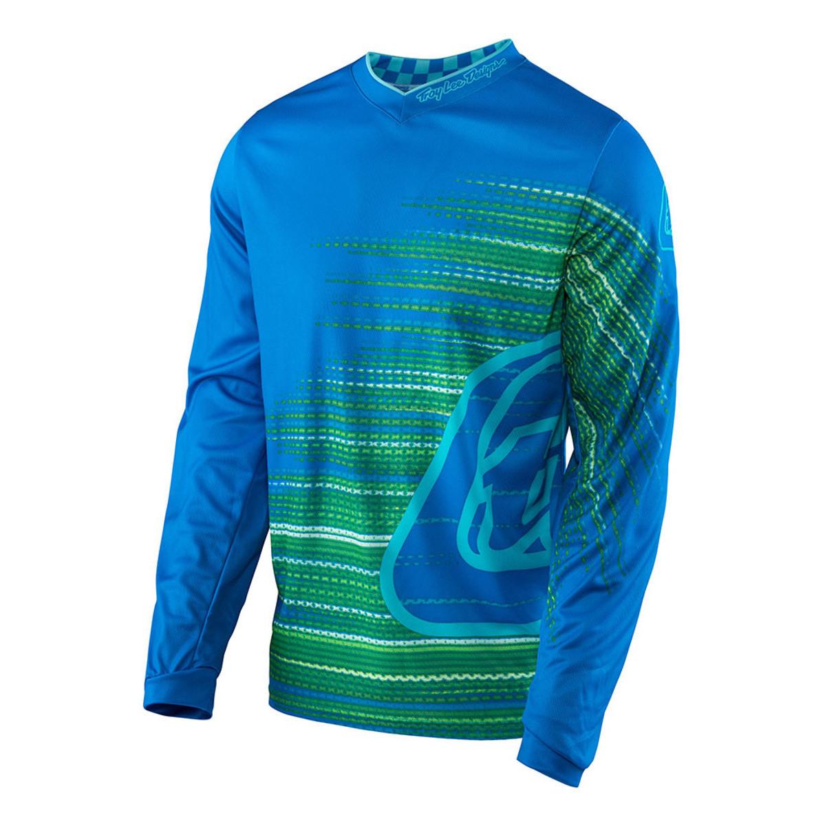 Troy Lee Designs GP Electro Jersey Troy Lee Designs GP Electro Blue