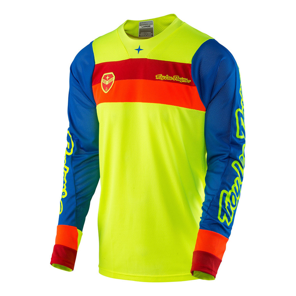 Troy Lee Designs SE Air Corsa Jersey Troy Lee Designs SE Air Corsa Yellow